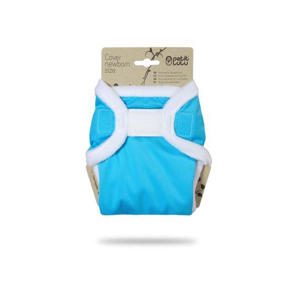 Modré - novorozenecké svrchní kalhotky