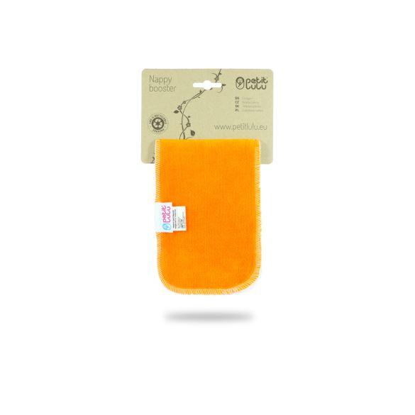 Oranžová vkládací plena krátká