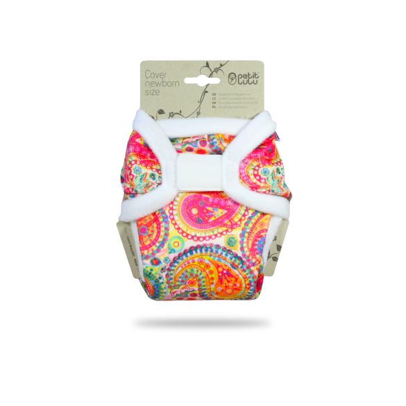 Barevný Orient - novorozenecké svrchní kalhotky
