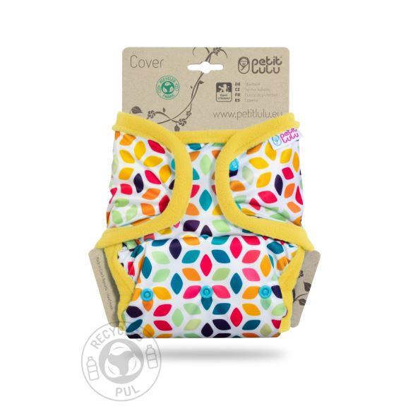 Květinové kostky - svrchní kalhotky s kapsami pat