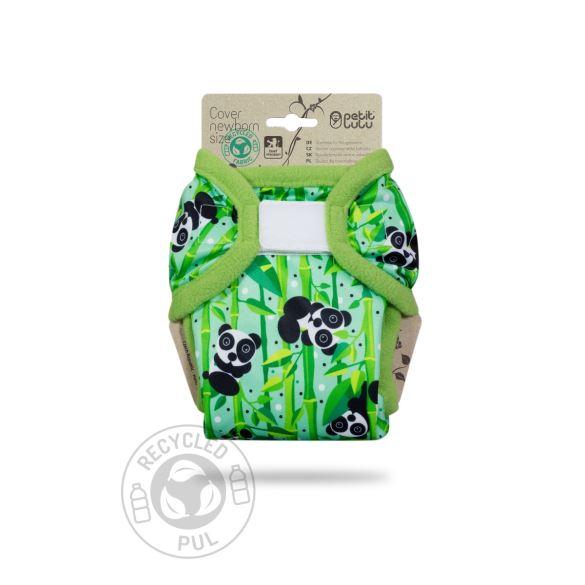 Medvídci Panda - novorozenecké svrchní kalhotky