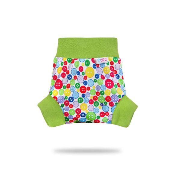 Sbírka knoflíků (zelený lem) - pull-up svrchní kalhotky