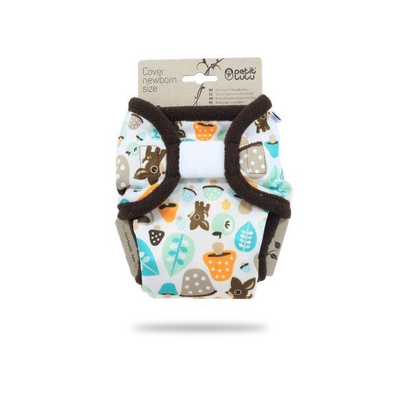Houbičky - novorozenecké svrchní kalhotky