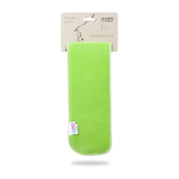 Zelená vkládací plena dlouhá