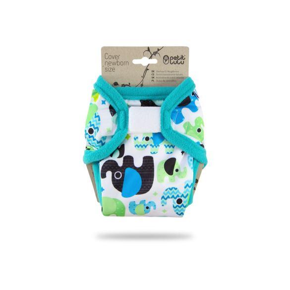 Sloníci (tyrkys) - novorozenecké svrchní kalhotky