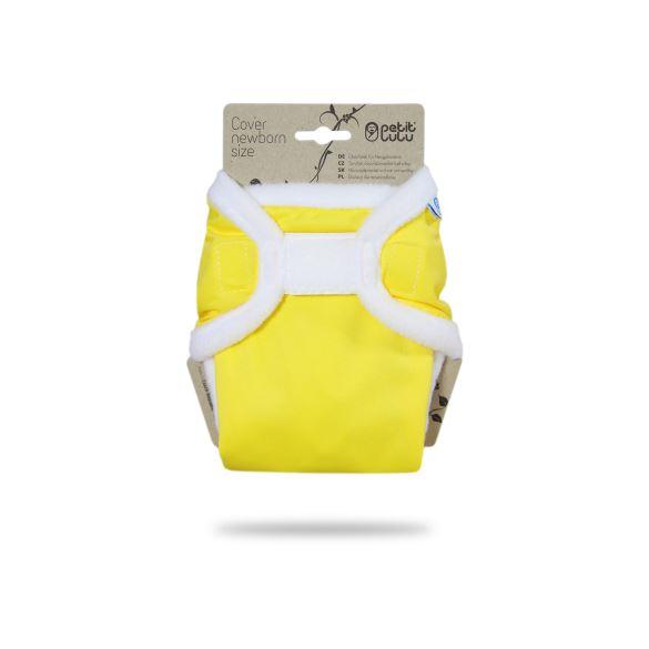 Žluté - novorozenecké svrchní kalhotky