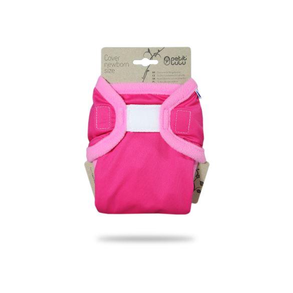 Růžové - novorozenecké svrchní kalhotky