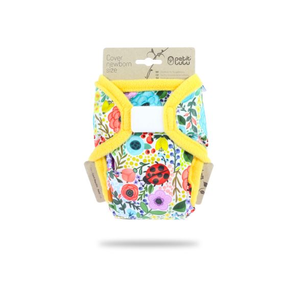 Rozkvetlá zahrada - novorozenecké svrchní kalhotky