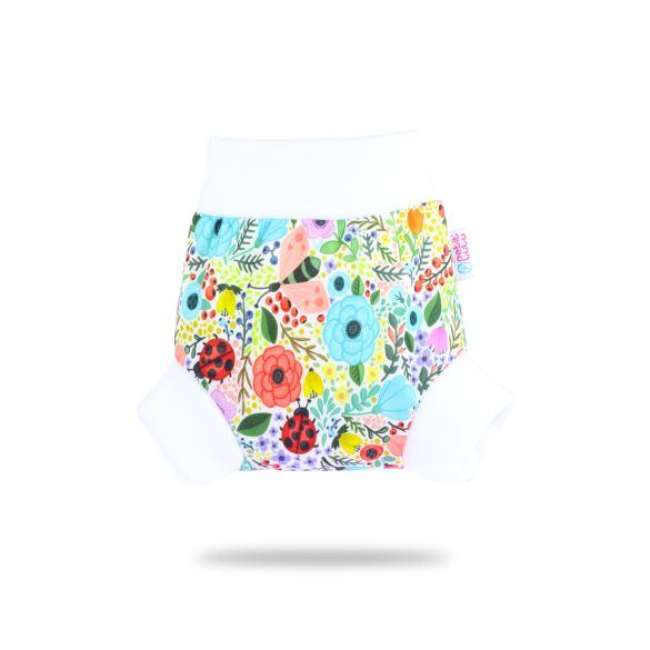 Rozkvetlá zahrada - pull-up svrchní kalhotky