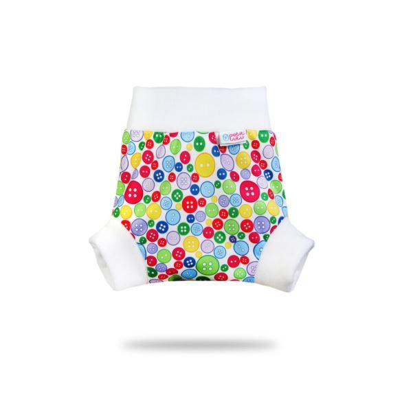 Sbírka knoflíků - pull-up svrchní kalhotky