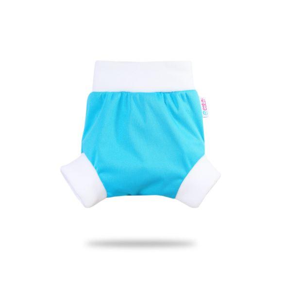 Modré - pull-up svrchní kalhotky