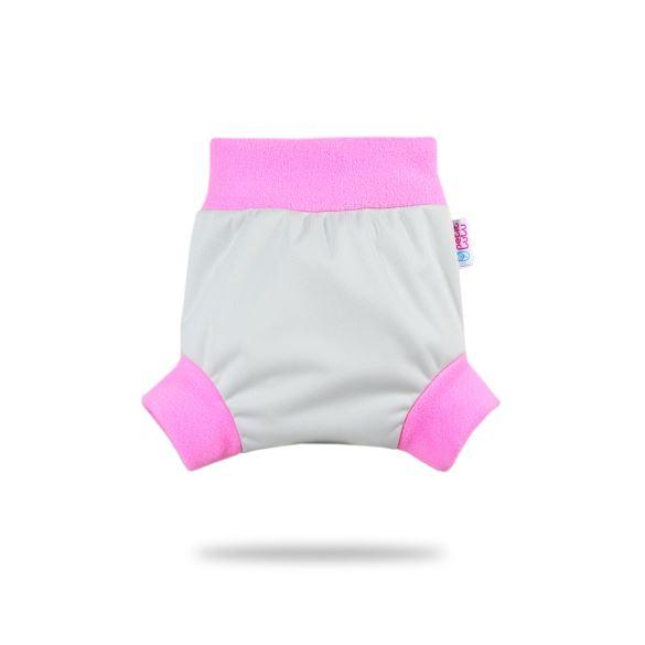 Šedé (růžová) - pull-up svrchní kalhotky