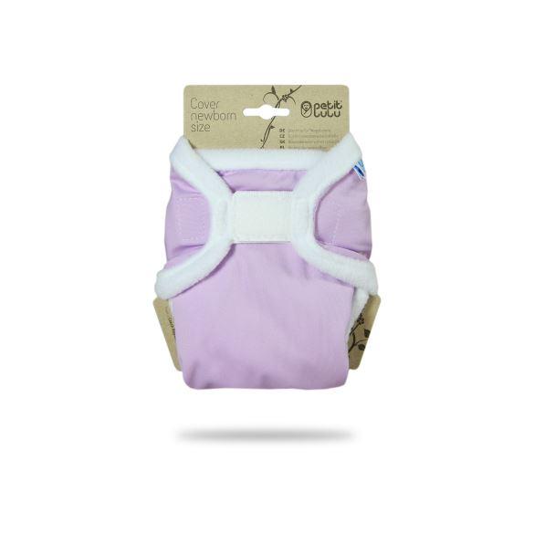Šeříkové - novorozenecké svrchní kalhotky