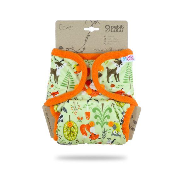 Lesní zvířátka - svrchní kalhotky pat