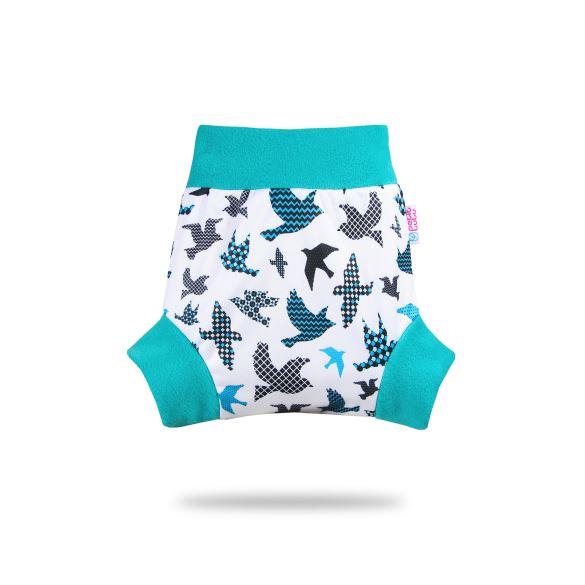 Tyrkysoví ptáčci - pull-up svrchní kalhotky