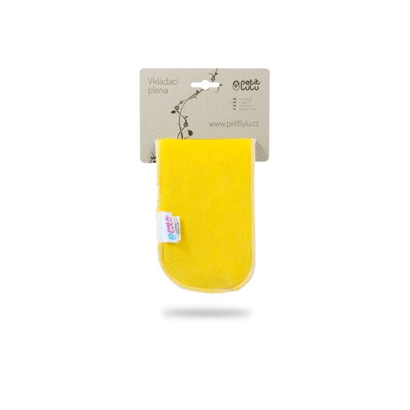 Žlutá vkládací plena krátká