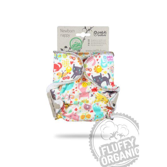 II. jakost Kočičí louka - novorozenecká plenka - ušpiněné froté