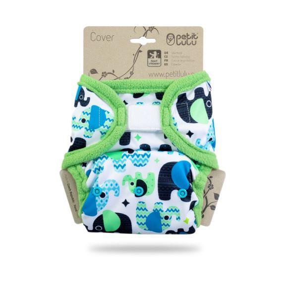 Sloníci (tyrkys) - svrchní kalhotky s kapsami sz