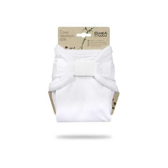 Bílé - novorozenecké svrchní kalhotky