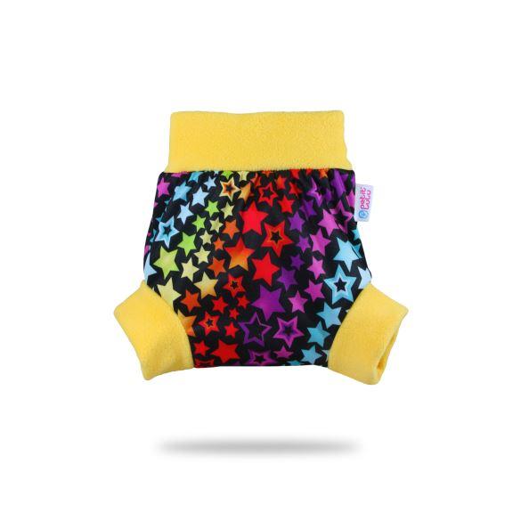 II. jakost Duhové hvězdy - pull-up svrchní kalhotky XL - kaz na látce